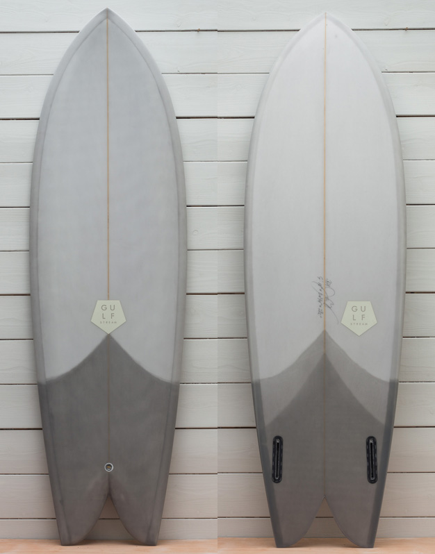 5'10 grey tail wrap keel fin 1