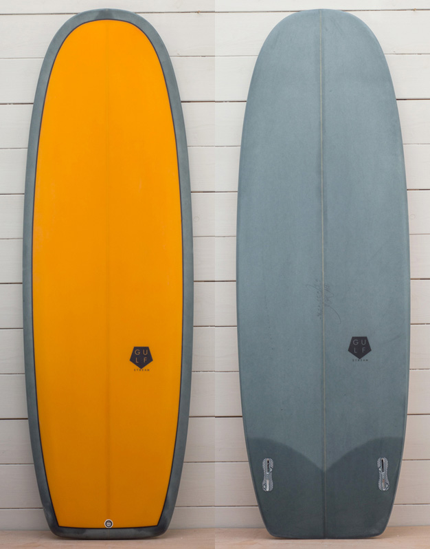 5'8 Tangerine orange seapea