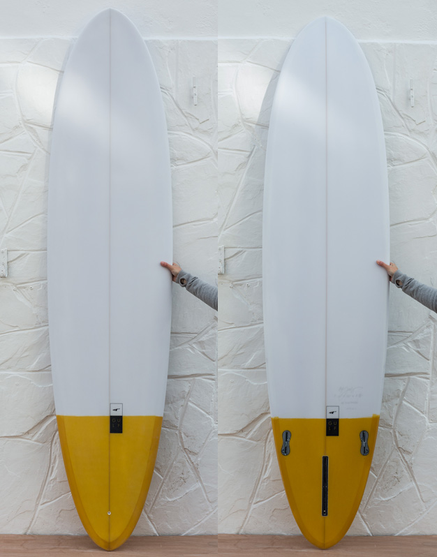 7'10 yellow tail dip egg