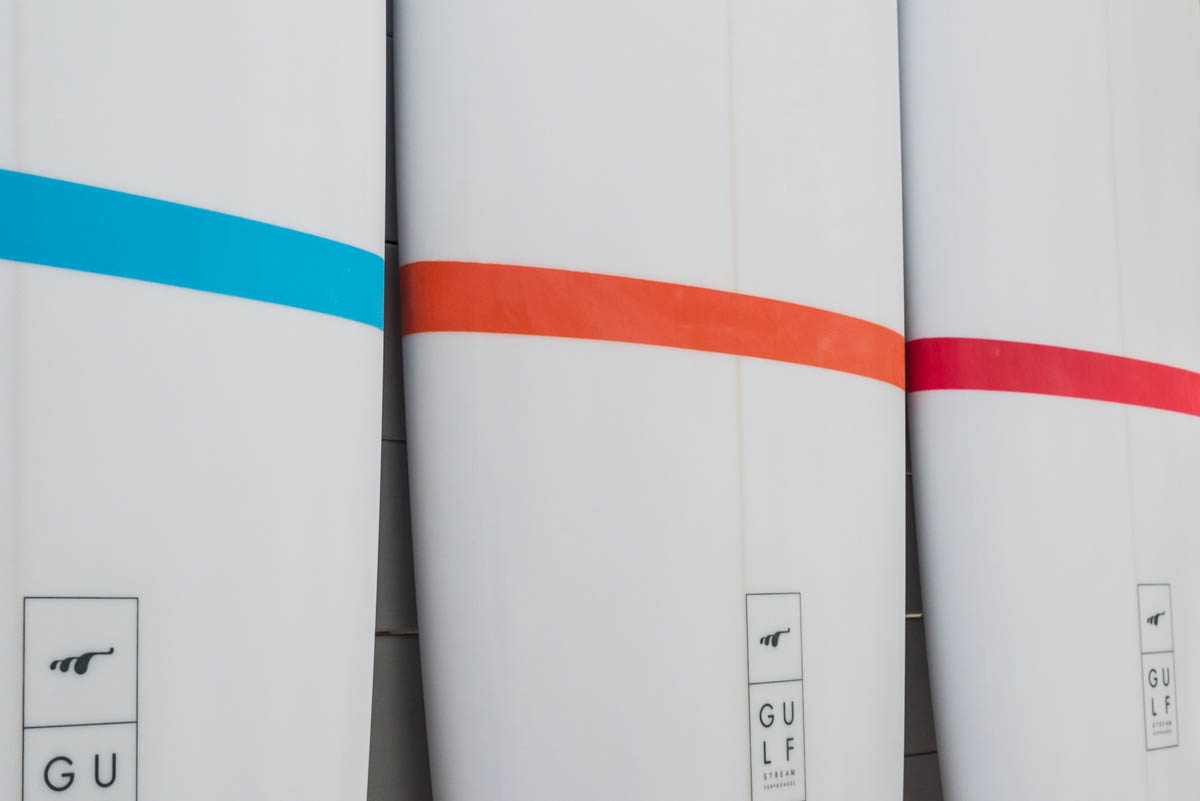 carpet surfboard range