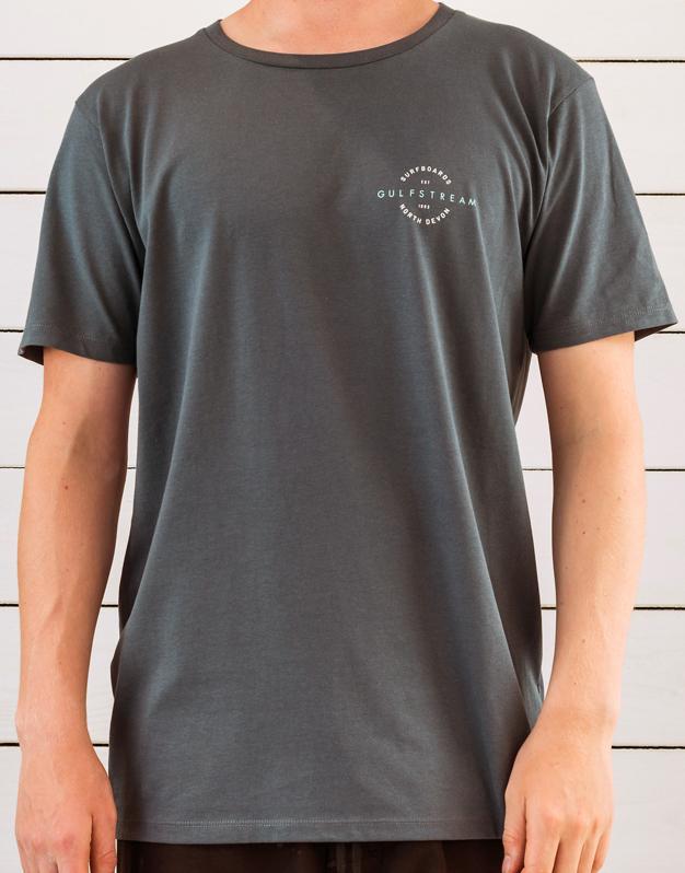 Charcoal vintage t-shirt front