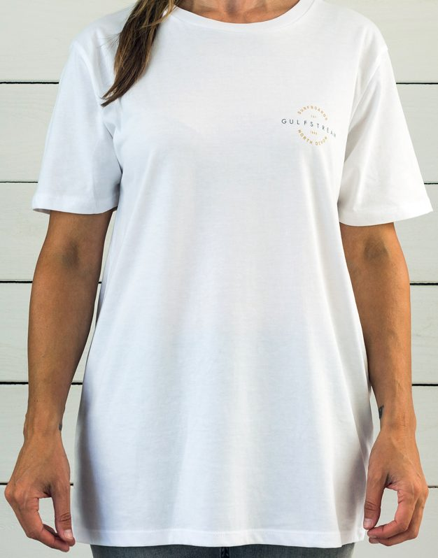 white vintage t-shirt front