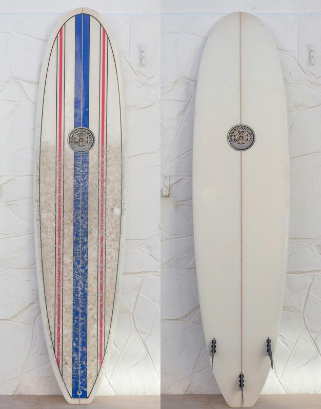 7 6 Hawaiian Soul Minimal Second Hand Gulf Stream Surfboards